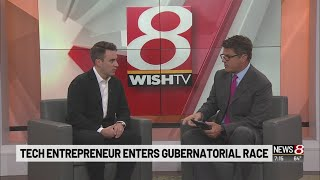 Candidate for governor talks politics, reasons for running