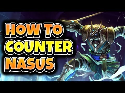 COUNTER NASUS WITH TRYNDAMERE- League of Legends Full Gameplay