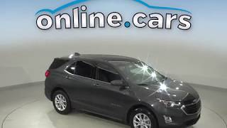 A10555TR Used 2018 Chevrolet Equinox LT FWD 4D Sport Utility Gray Test Drive, Review, For Sale