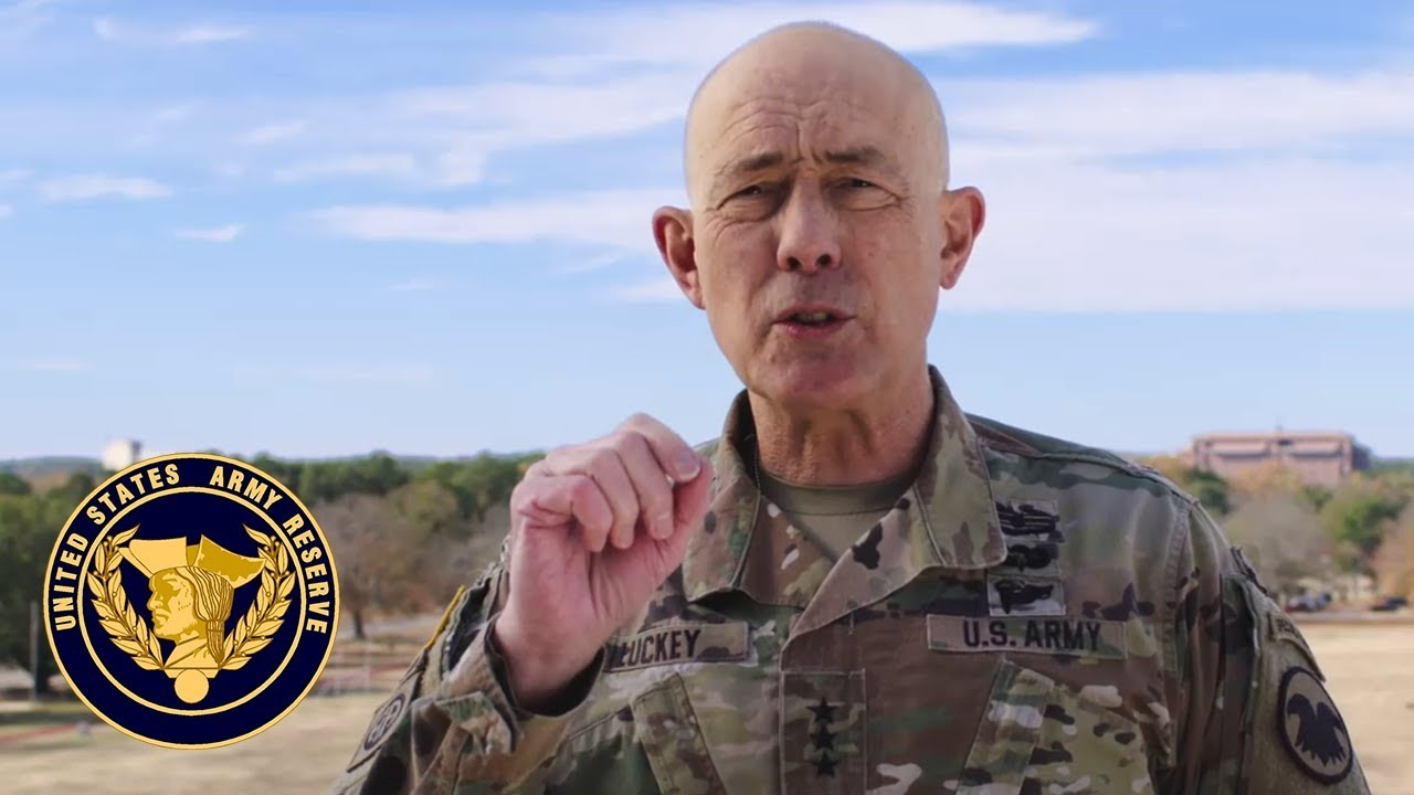 As we head into the holidays, Lt. Gen. Charles D. Luckey, chief of Army Reserve and commanding general, U.S. Army Reserve Command, would like to take a minute to remind Soldiers to pay extra attention to their buddies and to share the values of America's Army Reserve in their communities.   Watch the video to hear more.