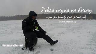 Ловля окуня на зимнюю блесну. Видео отчет от 24.03.2015 г.