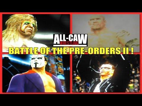 Battle of the Pre-Orders II: Goldberg vs Ultimate Warrior ...