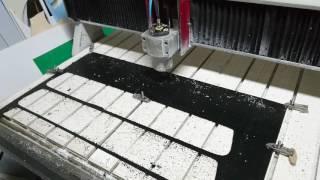 Изготовление заглушки в нижнюю часть рестайлингово переднего бампера Lancer X