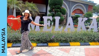 Melaka, Malaysia travel vlog: A Famosa, Dutch Square | Malacca vlog 1