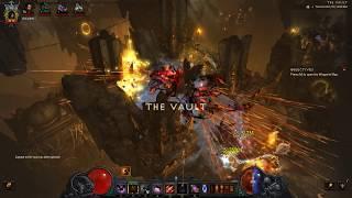 [Diablo 3] Solo 36,288% GOLD FIND Demon Hunter in The Vault (493 million gold run)