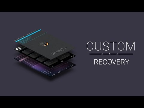 Install custom recovery in one touch (TWRP, CWM ,Philz)