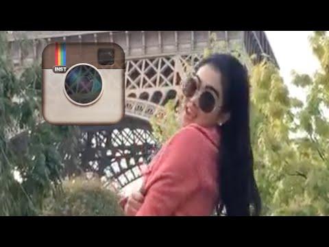 Syahrini maju mundur di Paris (kompilasi Instagram 2)