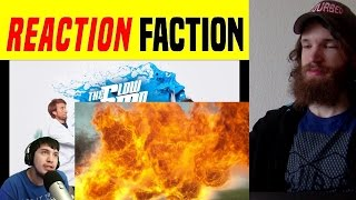 BAD ONE-LINERS!!- Reaction to..50 ft Flamethrower in 4K Slow Motion - The Slow Mo Guys REACTION!!!