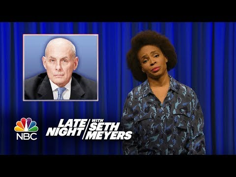 Amber's Minute of Fury: John Kelly