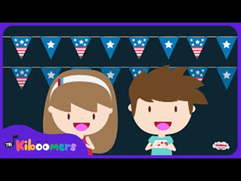 4th of July Fireworks | Independence Day | Kids Songs | Nursery Rhymes | Preschool | Kindergarten