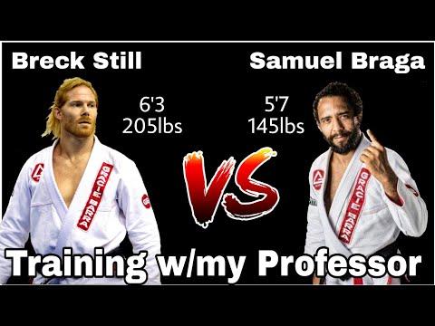 Breck Still vs Samuel Braga, Multiple Time World Champion (This is him taking it easy on me 😳)