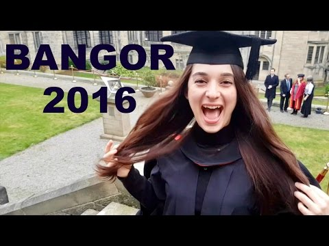 Bangor University 2016 Graduation (Mezuniyet) - Vlog 1