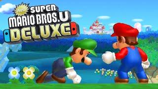 New Super Mario Bros U Deluxe - Full Game Walkthrough