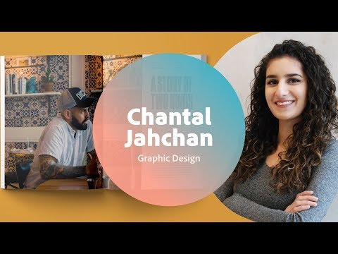 Live Graphic Design with Chantal Jahchan - 1 of 3