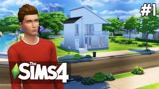 The Sims 4 PROJEKT [#1] STARTER HOME #Budowa