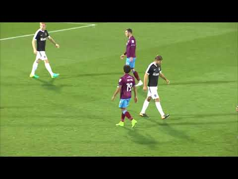 HIGHLIGHTS: Scunthorpe United 1 Northampton Town 0, Emirates FA Cup 2017/18