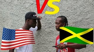 Americans V.S Jamaicans ''Reactions In Real Life''@Jnel Comedy