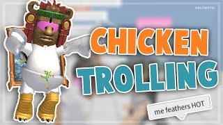 Roblox Chicken Trolling :P