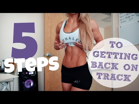 5 Steps To Getting Back On Track   Post Vacation Game Plan