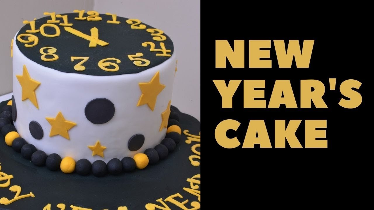 Happy New Year 2016 Cake   YouTube Happy New Year 2016 Cake