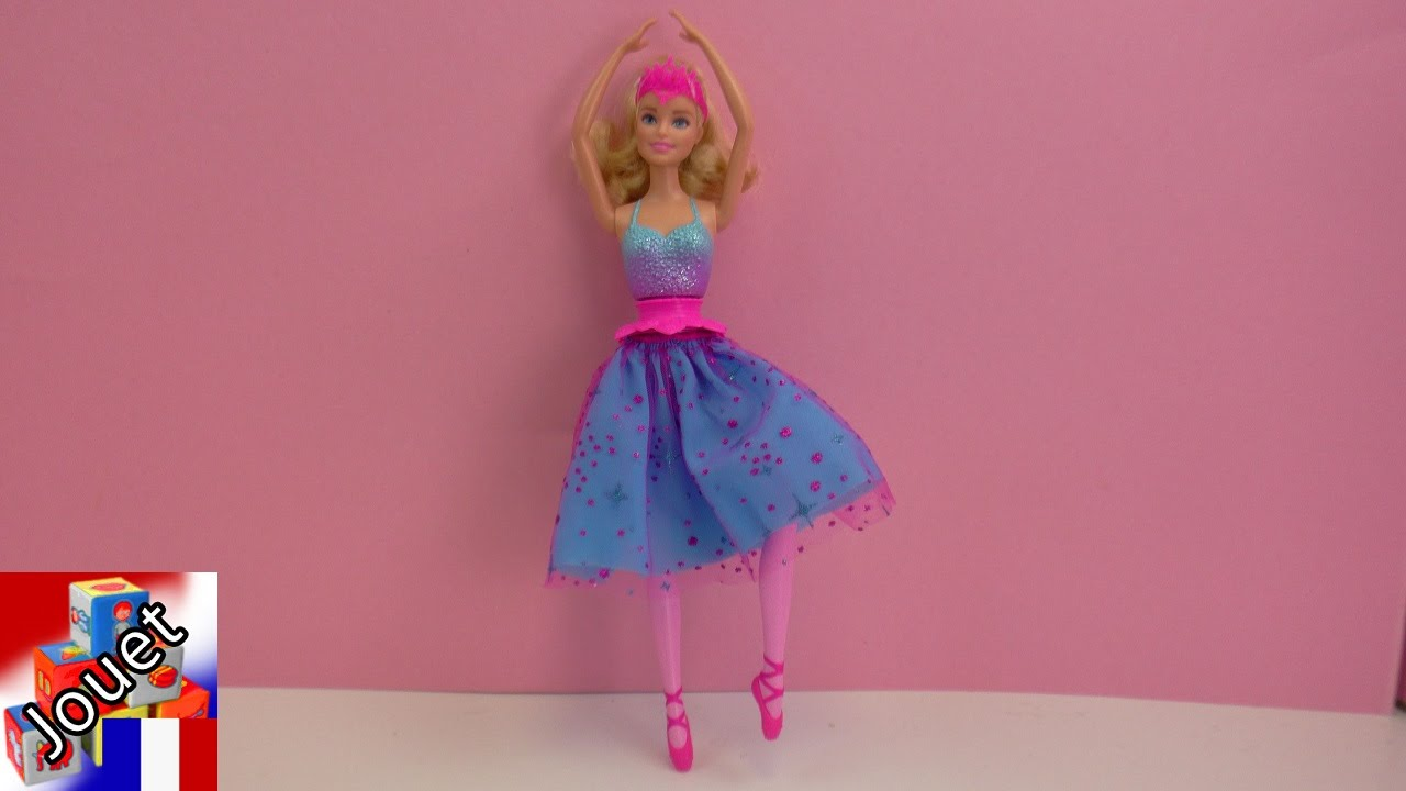 Danseuse Ballerine Barbie Dance And Spin Ballerina Danseuse Ballerine Barbie Barbie Peut Danser Toy Demo