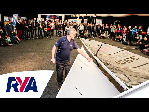 Rig Tuning Presentation with Michael McNamara at RYA Suzuki Dinghy Show 2016