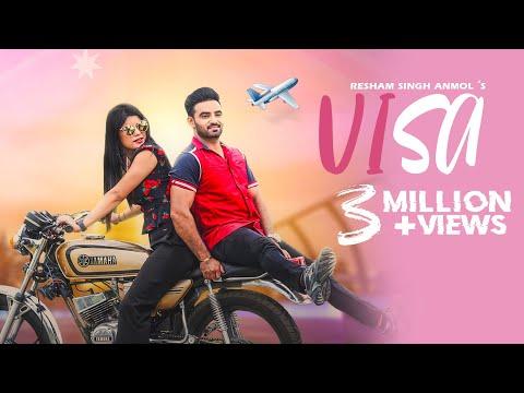 Visa (Full Video) | Resham Singh Anmol | New Punjabi Songs 2019 | Uproar Production