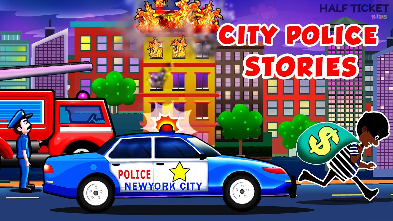 Police Car To The Rescue Police Car Stories Police Car