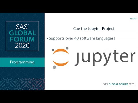 SAS Tutorial | Using Jupyter To Boost Your Data Science Workflow