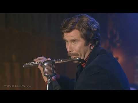 ron burgundy shreds a mad flute solo