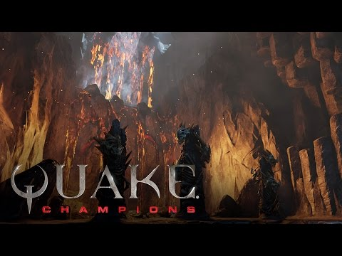 Quake Champions – Bande-annonce de l'arène Burial Chamber