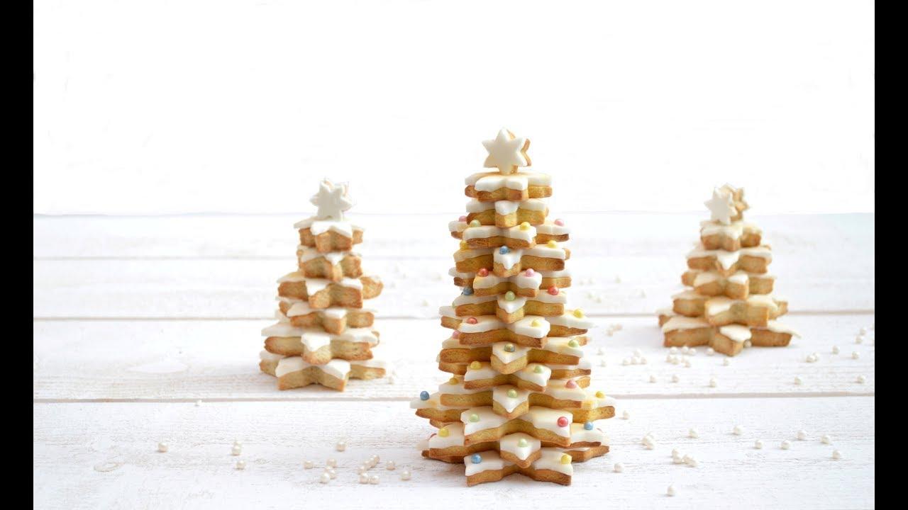 Sapin De Noël En Biscuits Christmas Tree Scrapcooking