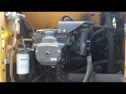 L&T-KOMATSU PC210-8,Trouble E0E DA2RMC Failure Code komatsu engine ECM  hydraulic pump repair