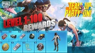 Gambar cover Season 8 Royale Pass All Rewards level 1-100 Pubg Mobile