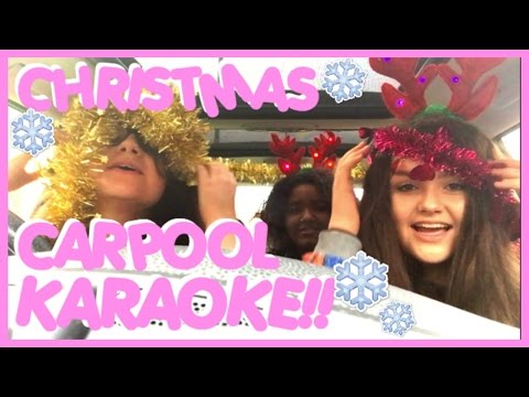 EMO CHRISTMAS CARPOOL KARAOKE!!