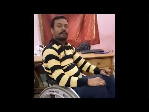 T10 Complete Paraplegic from Bihar, Shalesh Kumar, 8 years post-injury