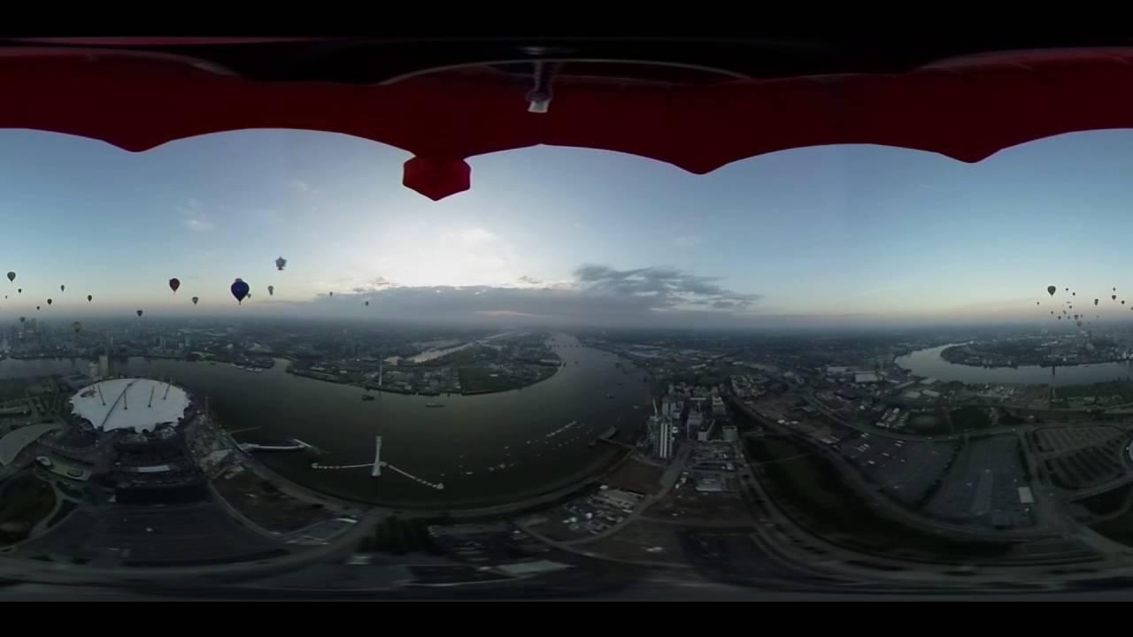 The 2016 RICOH Lord Mayor's Hot Air Balloon Regatta 360 Video - Exclusive Ballooning