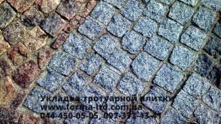 Красивая укладка тротуарной плитки в Киеве(, 2016-04-25T18:16:36.000Z)