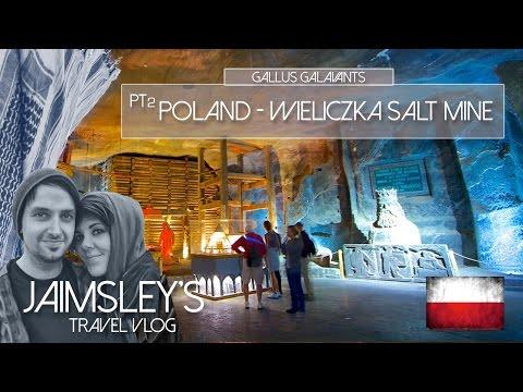 Poland: Day 3 Pt 2: Salt Mine Elevator & Finally Pierogis