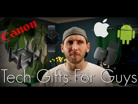 Awesome Tech Gift Ideas For Guys!