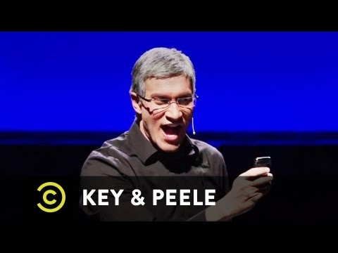 Key & Peele - Tim Cook Meltdown at iPhone 5 Launch