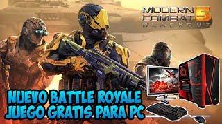 NUEVO BATTLE ROYALE En Modern Combat 5 **** JUEGO GRATIS PC ****