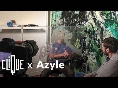 Azyle : la légende du graffiti parle avant son procès