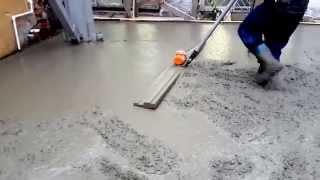 видео Ручные рейки для укладки бетона