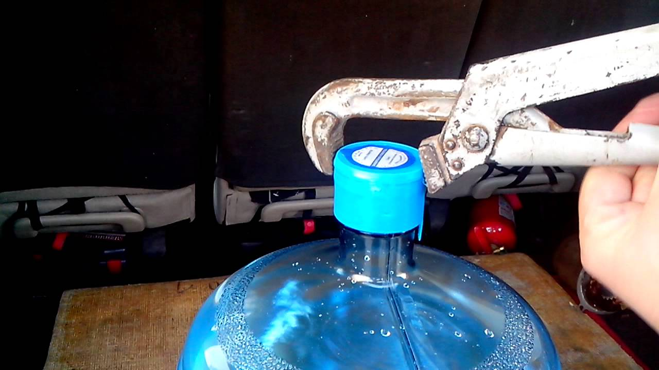Как сделать пробку для бутыли 20 литров фото 891
