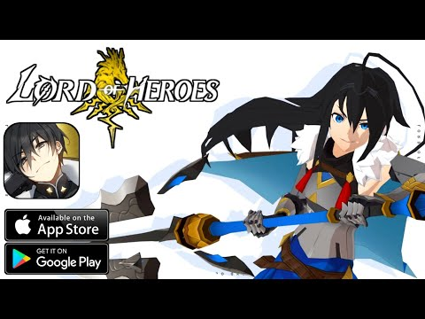 LORD OF HEROES - Gameplay Android, IOS - (RPG)
