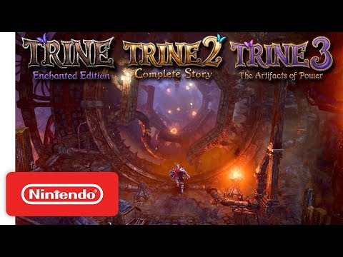 Trine Series - Announcement Trailer - Nintendo Switch