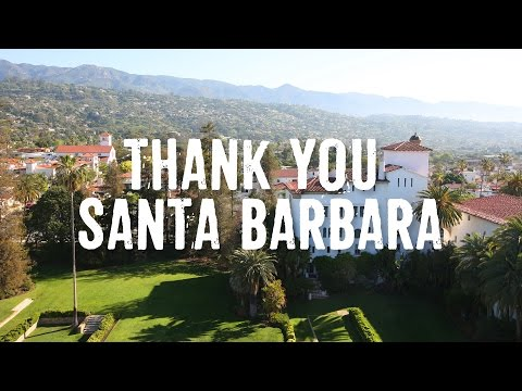 Thank You, Santa Barbara