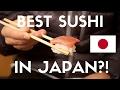 Best Sushi in Japan? - Endo Sushi (Osaka, Japan Vlog 2)