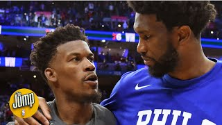 Jimmy Butler is still inside the 76ers' heads, according to a longtime Philly reporter | The Jump
